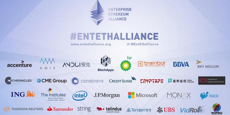 Mastrer Card oraz Cisco dołączyło do Enterprise Ethereum Alliance