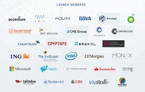 Lista firm tworzących Enterprice Ethereum Alliance
