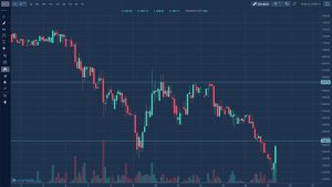 Rynek kryptowalut - kurs litecoin krótki okres