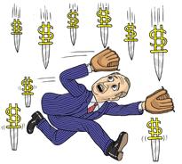 3 rzeczy, których nie należy robić, gdy cena bitcoina spada
