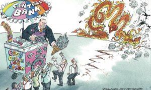 Kłamstwa na temat bitcoina - bank centralny